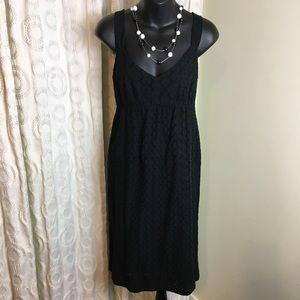 Jones New York black sundress 10